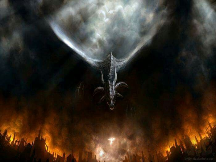 Amazing fantasy art - dragon fyre