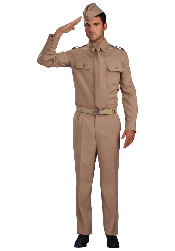 WW2 Army Costume From American site, but still cheaper than Australian sites, including postage