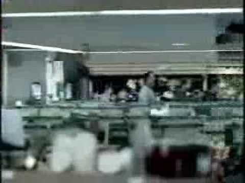 Human dominoes- Miller beer commercial