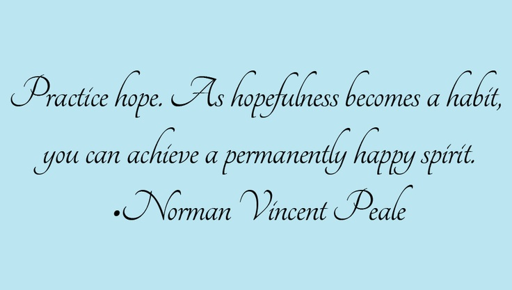 The Power Of Positive Thinking Quotes Norman Vincent Peale: Pin By Patricia Bell On Favorite Quotes