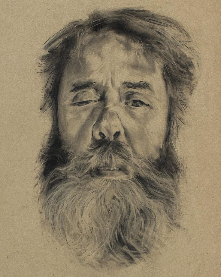 David Fooks - Q&S 55. Ned Charcoal Portrait