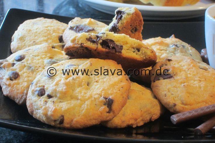 Schnelle Schoko-Cookies-Kekse | kochen & backen leicht gemacht mit Schritt für …