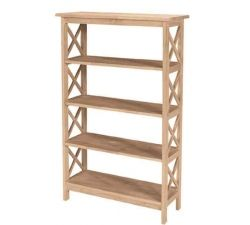 Bookshelves | Page 4 | Bare Woods Furniture | Real Wood Furniture Finished  Your Way