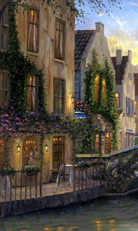Robert Finale ~ Romantic impressionist painter