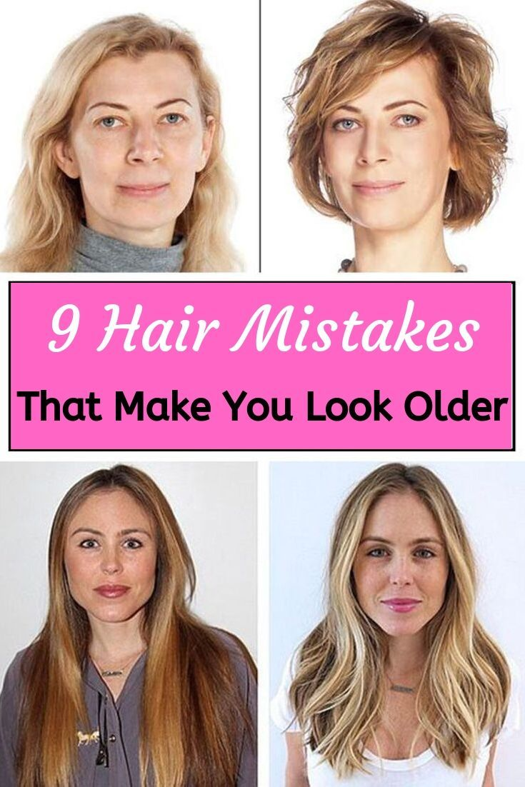 9 Hair Mistakes That Make You Look Older Older Women Hairstyles Hair Mistakes Medium Hair Styles