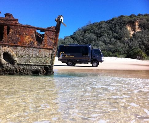 The discovery group - thediscoverygroup.com.au - Fraser island and noosa everglade adventures