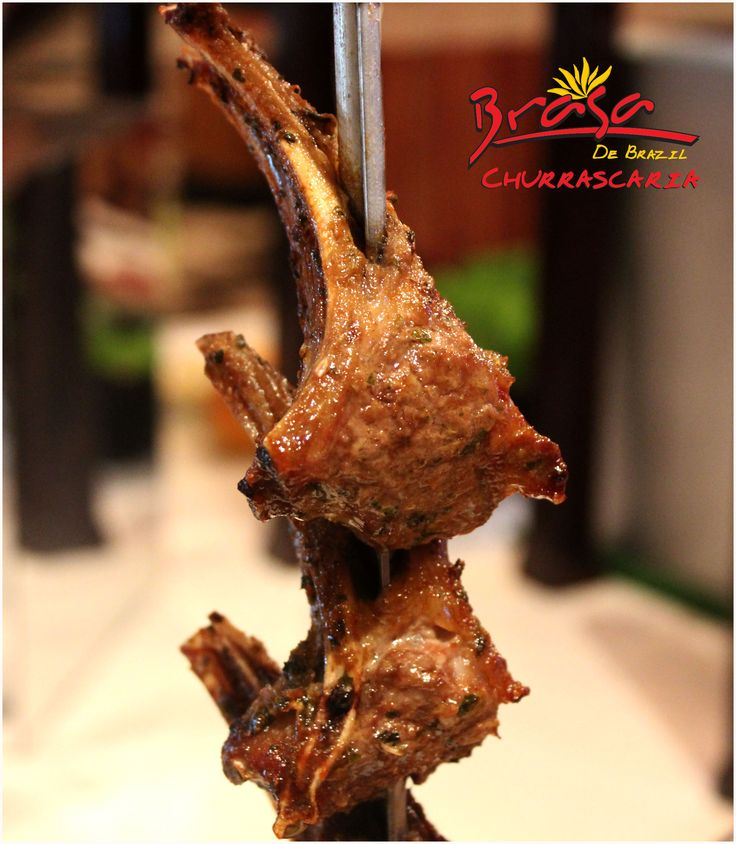 Take a taste of mouthwatering Lamb chops at Brasa De Brazil   The Authentic Brazilian Cuisine