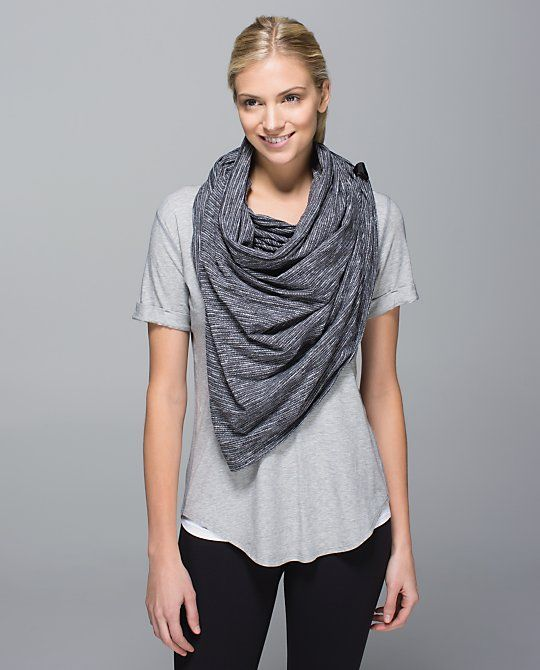 There are TEN (plus) ways to wear this scarf!