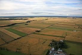 View over fields in Ilmajoki