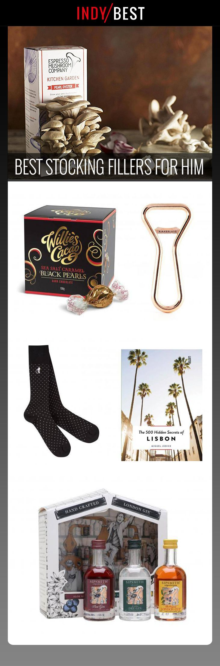 Our pick of the best stocking fillers for him: https://ind.pn/2zq06e8