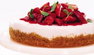 Salad strawberry dessert