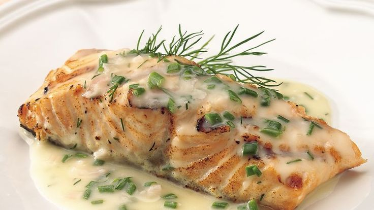 Broiled grouper fillets are livened up with creamy lemon-basil sauce. It will have your family asking for seconds.