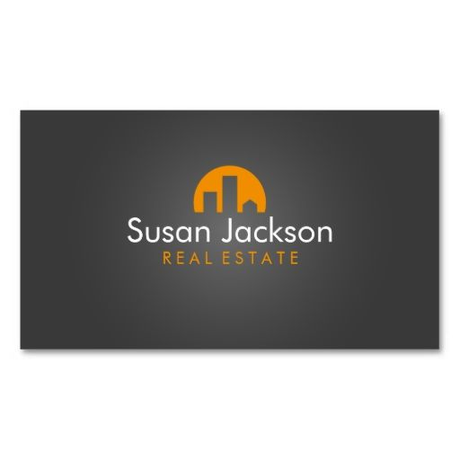 Contemporary Real Estate Business Card. I love this design! It is available for customization or ready to buy as is. All you need is to add your business info to this template then place the order. It will ship within 24 hours. Just click the image to make your own!