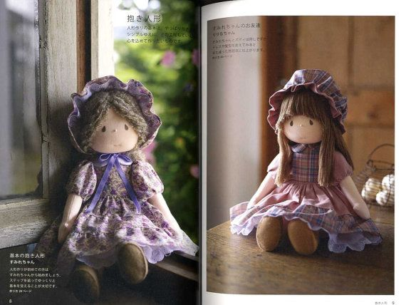 Mari Yoneyama Handmade Dolls Japanese Craft Book by pomadour24