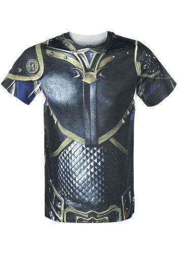 "Classica T-Shirt uomo ""Lothar Chest"" di #Warcraft."