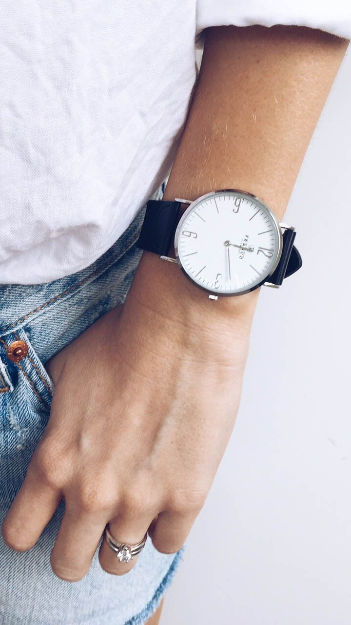 Obsessed with this watch! Such a classic look.