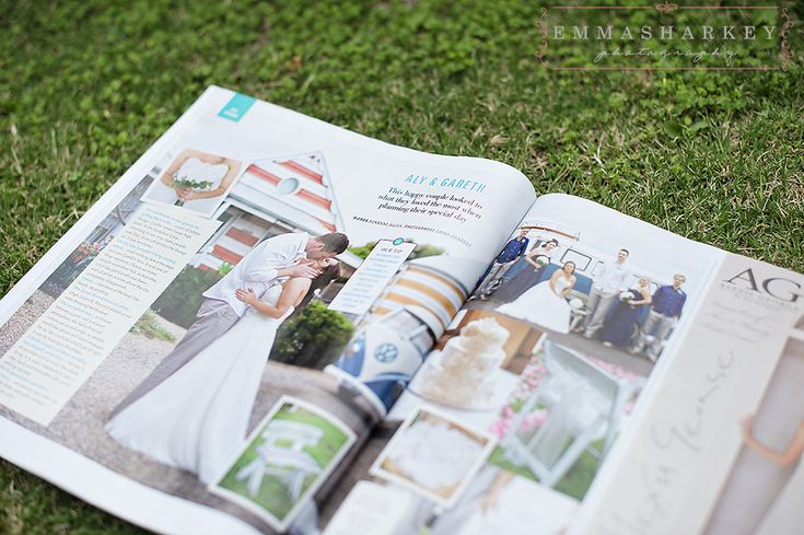 Emma Sharkey Photography Adelaide featured in the best of Adelaide 2013 Adelaide Star Magazine with Gareth and Ally's beachside wedding from The Beach Huts at Middleton! So much colour, love it :)  Wedding photography by Emma Sharkey Photography.