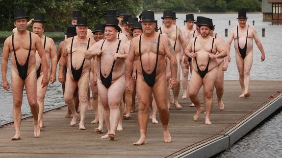 UK beach's ban on Borat-style mankinis is helping its reputation