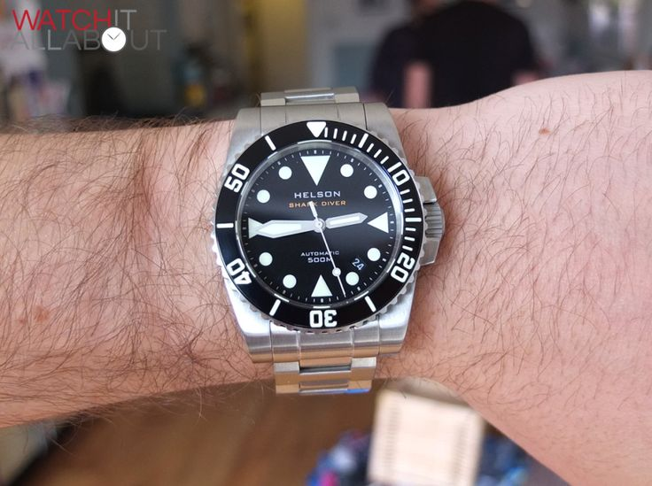 Helson Shark Diver 40 Watch Review | Watch It All About
