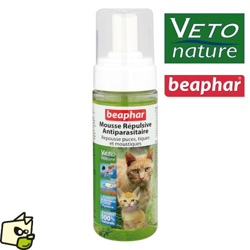 Lotion moussante VETO-NATURE INSECTIFUGE chien chat