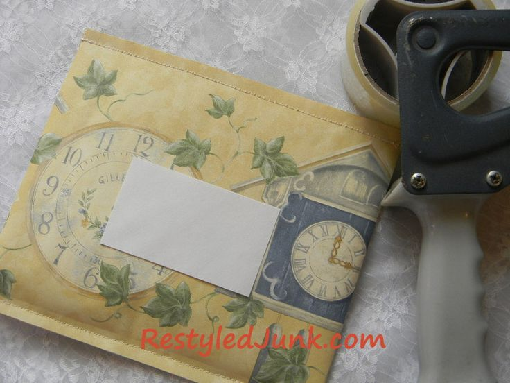 DIY: Padded Envelope Tutorial...this is just the cutest thing, makes sending items really special!
