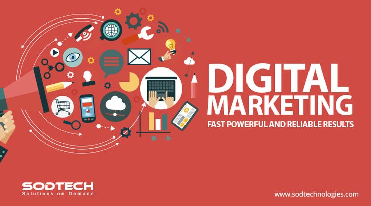 """Digital marketing is a collective term for online marketing efforts. Read more on DIGITAL MARKETING """"Fast Powerful and Reliable Results"""", Visit : http://www.sodtechnologies.com/digital-marketing-services.html"""
