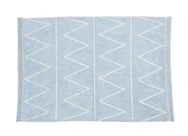 Lorena Canals Teppich Hippy blau 120x160 cm, waschbar