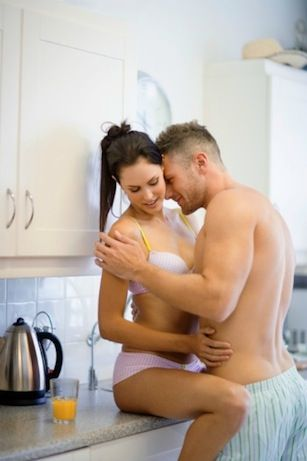 Sex position of the week: countertop sex!