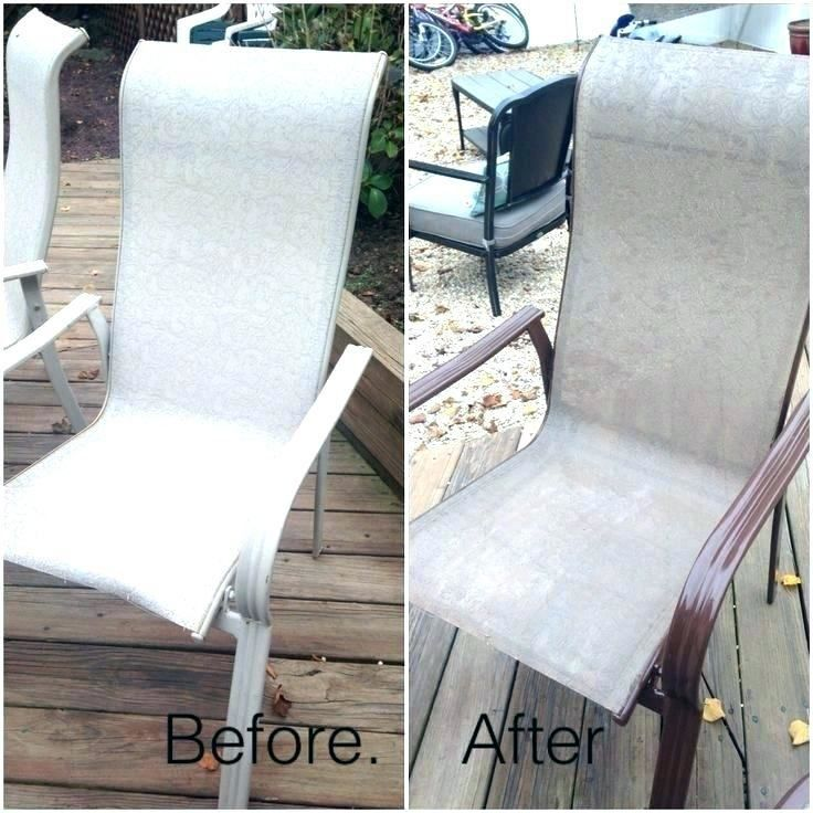 Chalk Paint Patio Furniture Dining, Patio Furniture Fabric Spray Paint