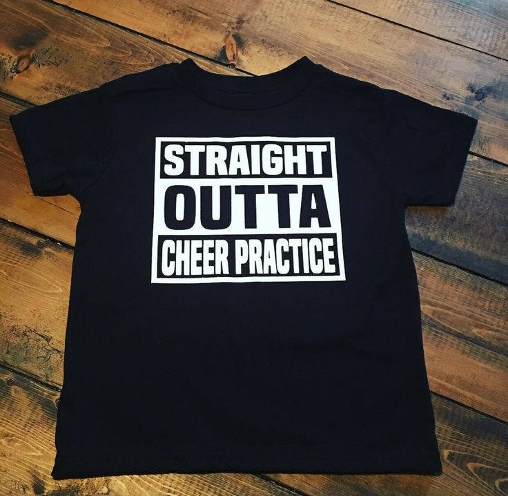 Straight Outta Cheer Practice - Cheerleading Shirt - Choose Your Sport - Straight Outta Custom by MommyMadeItGa on Etsy https://www.etsy.com/listing/291969507/straight-outta-cheer-practice