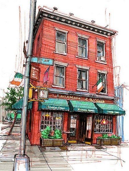 De um urban sketcher - sketchbook More