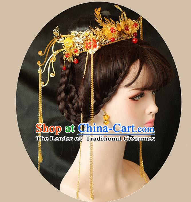 4543651f39d52 Chinese Ancient Style Hair Jewelry Accessories Wedding Hairpins ...