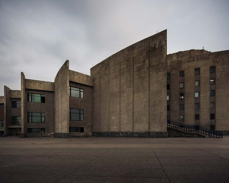 Pyongyang International Cinema House - Photo by Raphael Olivier.