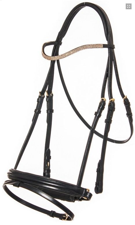 QHP Helios Leather Bridle