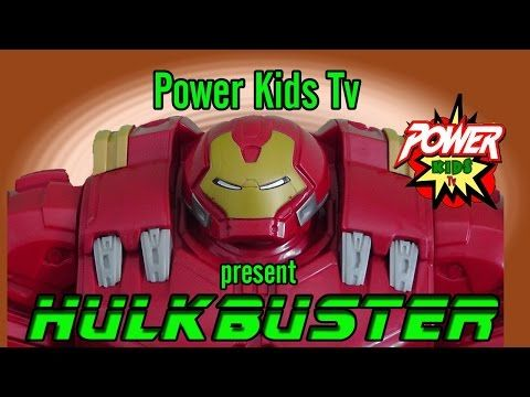 Hulkbuster toy review by Power Kids TV - YouTube