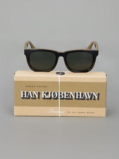 Hans Kjobenhavn Wingspan Sunglasses