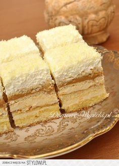 ciasto balowe Ciasto jest delikatne i lekkie, proste w… na Stylowi.pl