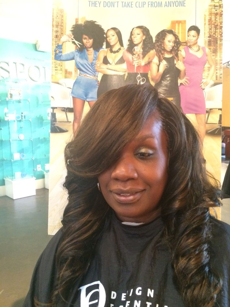 #gbraids by HairGynesis.com #treebraids swoop body wave ...