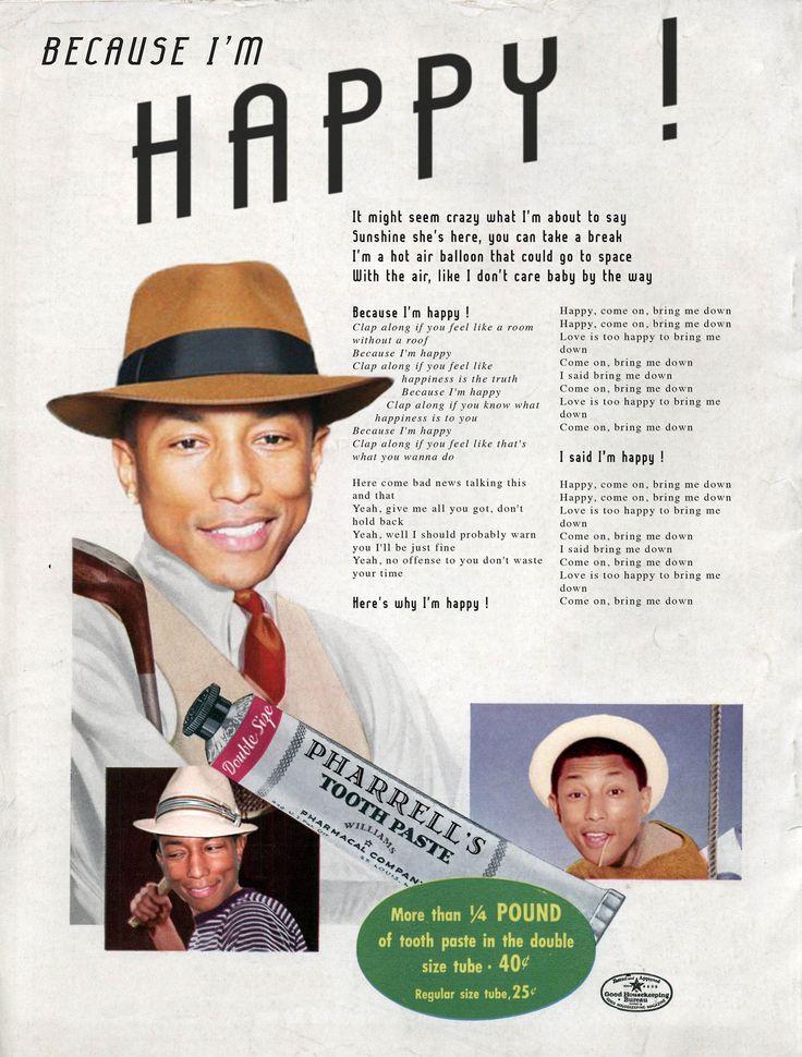 Happy / Pharrell Williams © Ads Libitum :facebook/tumblr/behance