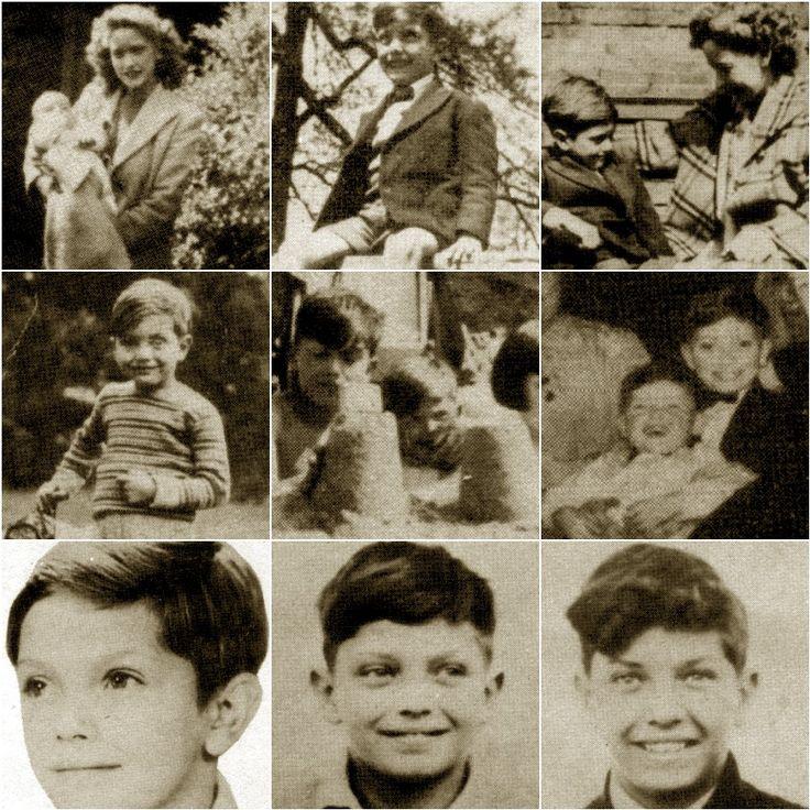 Martin Shaw as a boy. Handsome lad.