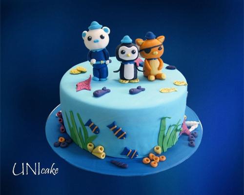 C35  Oktonautit -kakku