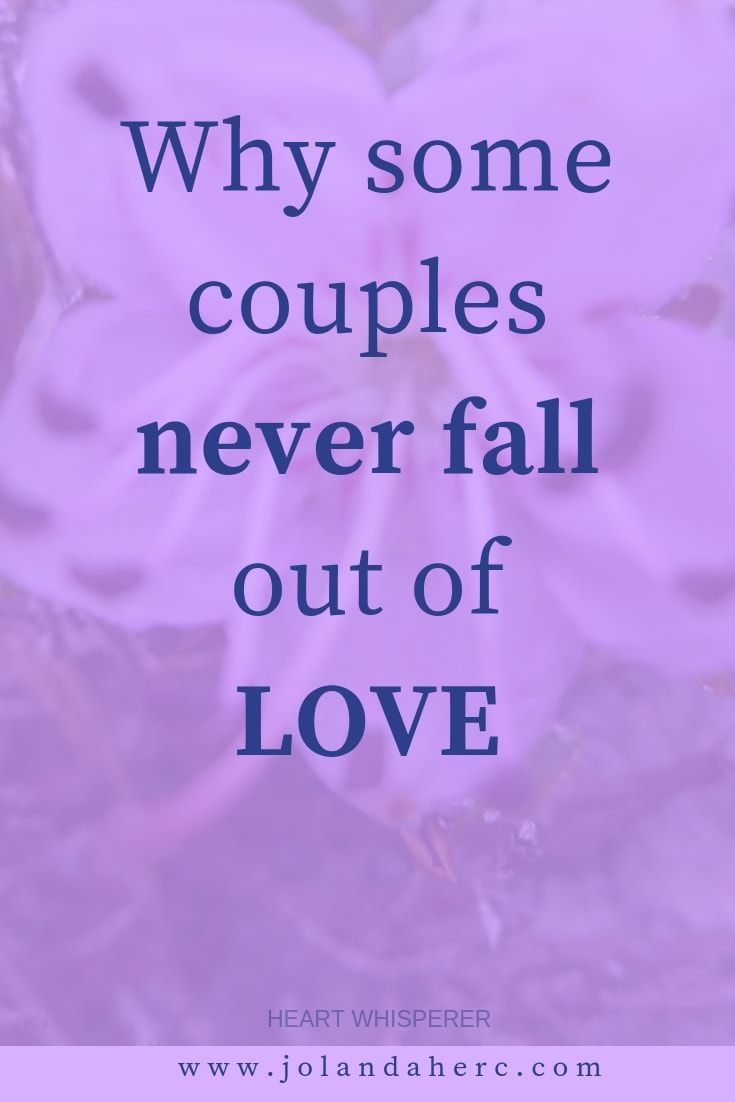 why couples fall out of love