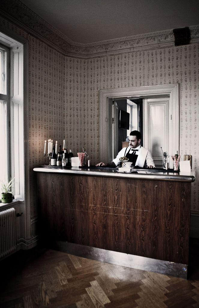 The bar in the lovely swedish bar