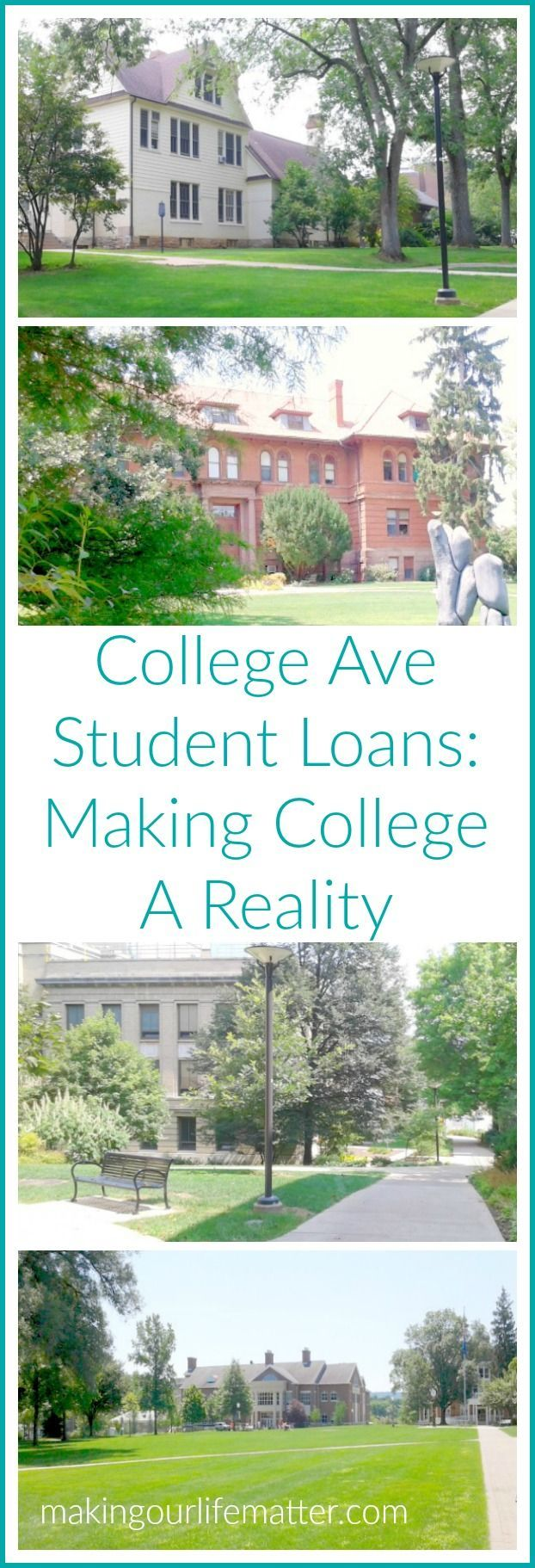 Financing college can be a scary thing. College Ave Student Loans can help. Sharing great information on securing a personal student loan. CollegeAveCreditCheckUp {AD}