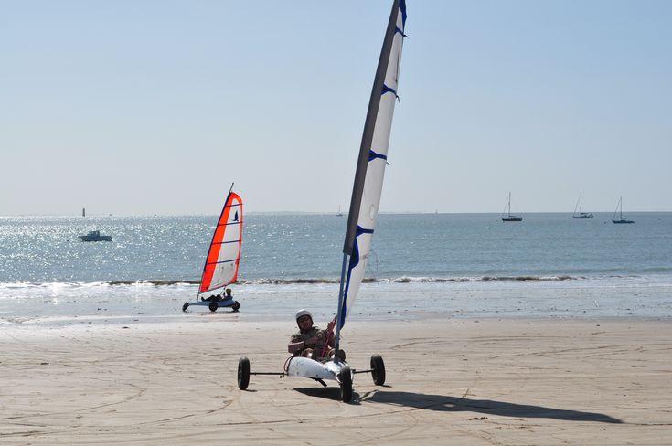 Sand-Yachting on the gorgeous Ile de Re, Poitou-Charentes, France