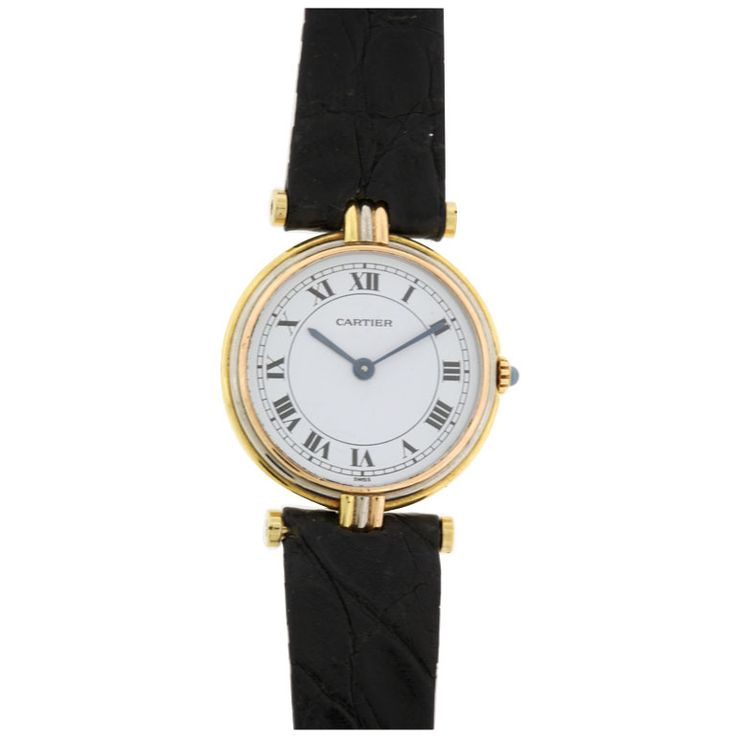 Vintage Cartier Watch.  Want.