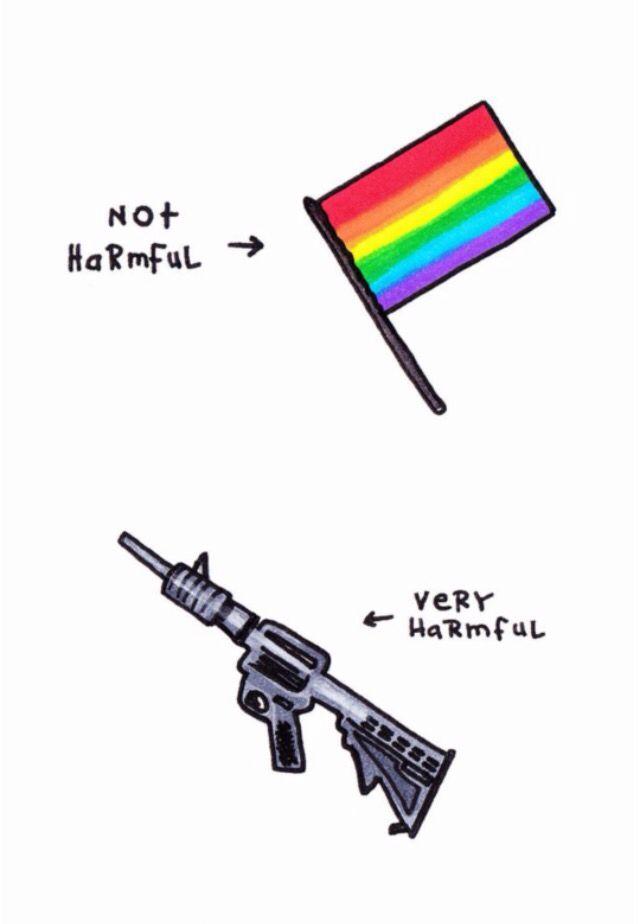 I'm gonna rant for a quick minute. Who in their damn mind thinks it's okay to kill openly gay, bisexual, lesbian, transgender, etc+ when they're out, expressing themselves and trying to have a good time?! I'm gay, so I guess it's okay for someone to come up and shoot me too. I just don't understand why people can't except people for who they are -Dani