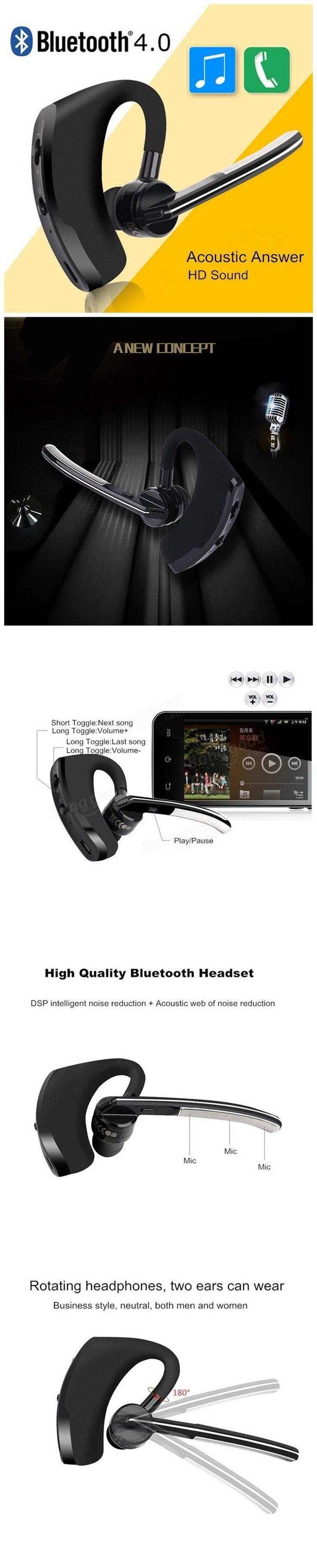 Wireless Bluetooth Earphone Stereo Headset Headphone Handsfree Universal For iPhone Samsung Xiaomi