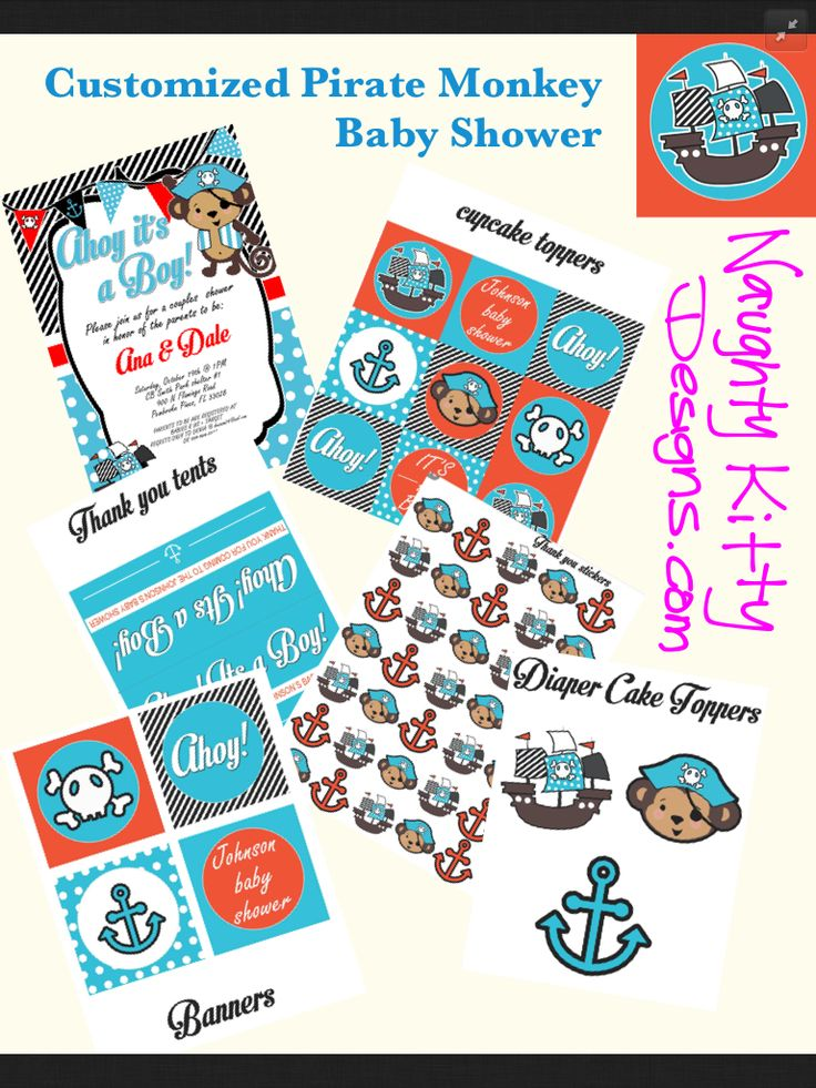 pirate theme baby shower on pinterest infants themed baby showers