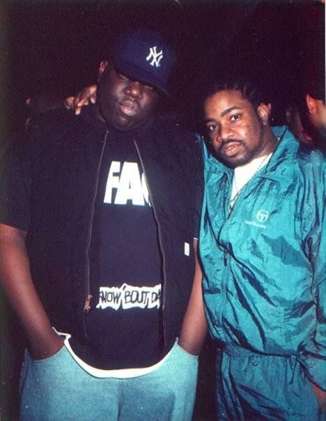 Biggie Smalls the Lyrical Terror and Lord Finesse the Funky Technician!